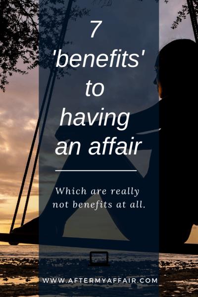 Benefits of having an affair
