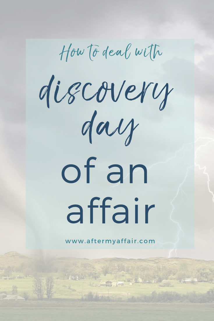 Discovery Day of an Affair - After My Affair