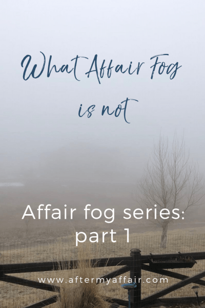 what affair fog is not