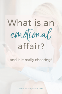what is an emotional affair