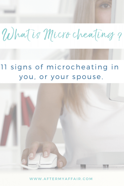 signs of micro cheating