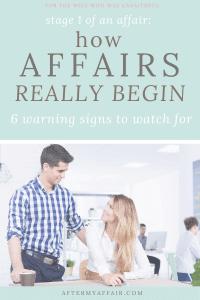 warning signs of emotional affair