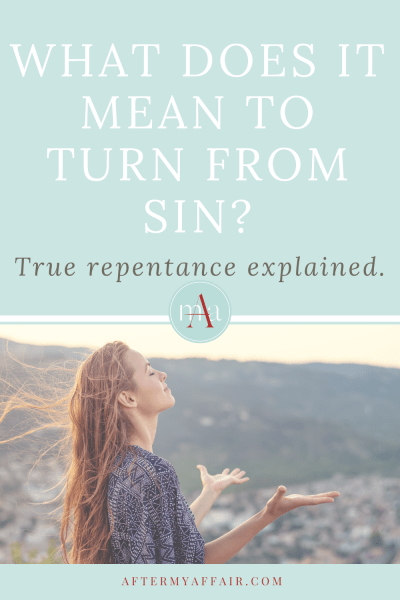 what does it mean to turn from sin
